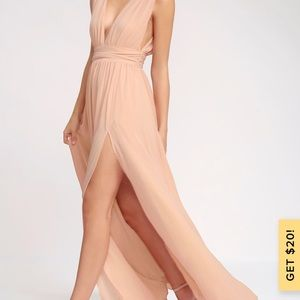 Lulus Heaveny Hues Maxi Dress